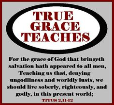 true grace teaches