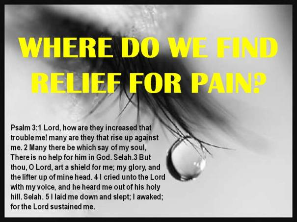 relief for pain