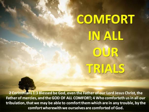 comfort-in-all-our-trials