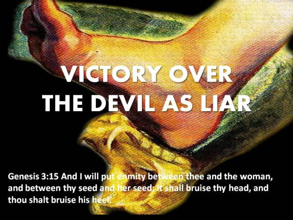 victory over the devil as liar